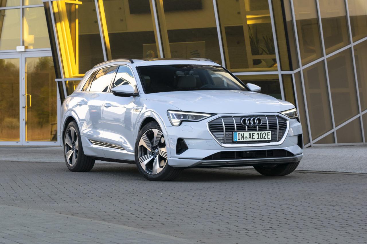 Fahrbericht Audi e-tron: Vier Ringe unter (Stark)Strom